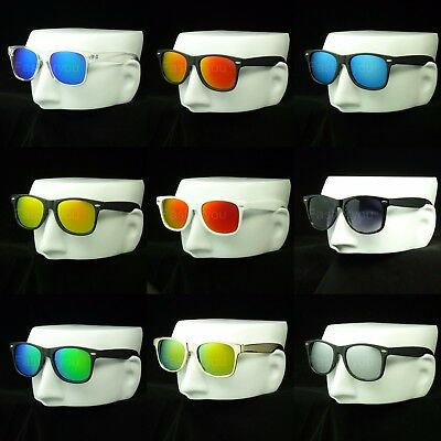 Sunglasses new retro vintage wayfarer style men women color frame uv400