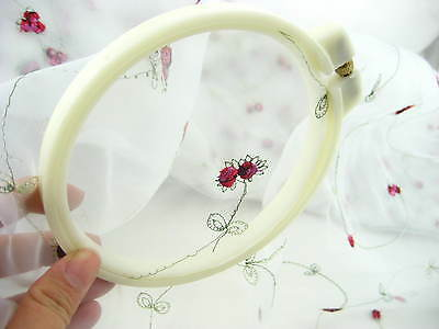 Adjustable plastic round Embroidery Tapestry hoops frame Cross Stitch Frames