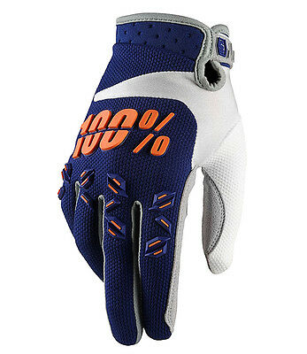 GUANTO CROSS DOWNHILL ENDURO 100% AIRMATIC BLU taglia M - 9