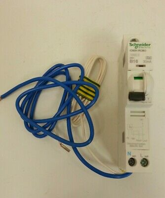SCHNEIDER 10KA ACTI9 RANGE IC60H RCBO C TYPE TO FIT ACTi9 BOARDS & MULTI9 BOARDS