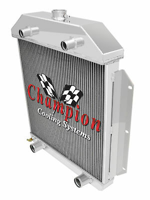 Champion Cooling  3 Row All Aluminum Radiator 1942-52 Ford Truck Flathead  Co...