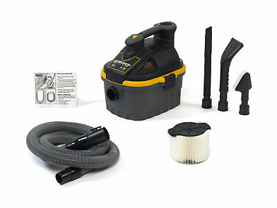 WORKSHOP Wet Dry Vacs WS0401VA 4-Gallon Portable Vacuum with Car Cleaning Kit