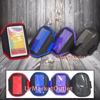 Large Luxury GYM Running Sport Armband Phone Case Cover for Samsung Galaxy