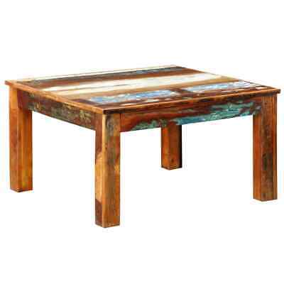 New Reclaimed Home Furniture Vintage Wood Square Coffee Table Square Tea Table