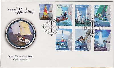 (KV39) 1999 NZ FDC 7set yachting