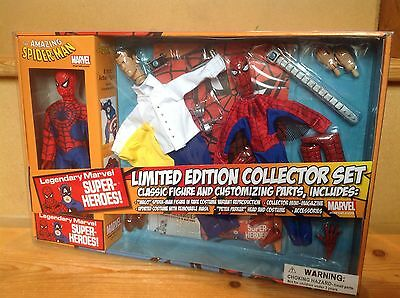 Marvel Retro Mego Action Figure Spider-Man Limited Edition Collector Set *New*