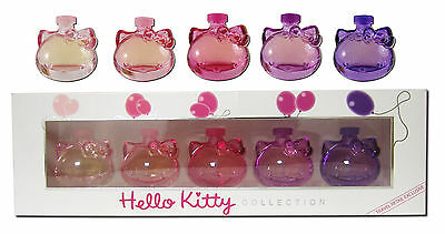 Eau de Toilette Parfüm Parfums Hello Kitty 5x 5 ml Collection Damenduft Düfte