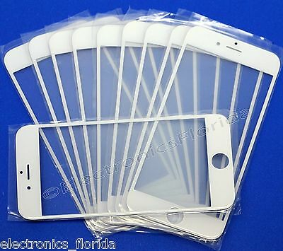 Lot Front Screen Glass Lens Replacement for iPhone iPhone 4 4S 5 5S 5C 6 6 plus