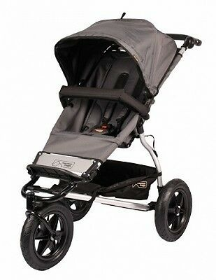 Mountain Buggy 2014 Evolution Urban Jungle Single Stroller in Flint BRAND NEW!!