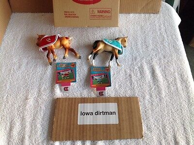 Grand Champions Foal Collection  50173 New With Box And ID Cards Vintage