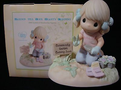 Precious Moments-Sow Much To Do-RARE 2008 LE-Gardener