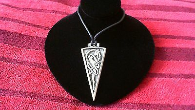 Viking Dragon Pewter Pendant Necklace! New Thor Odin Norse Celtic Pagan Nordic