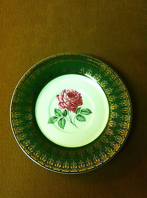 4- American Beauty Rose By Limoges American TS530 Saucer Lot of 4 Saucers
