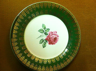 4-Bread & Butter Plates  American Beauty Rose By Limoges American TS530 Lot of 4