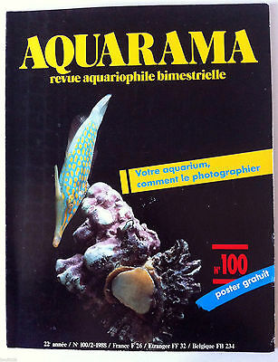 AQUARAMA, Revue Aquariophile n°100; Comment photographier sont aquarium • EUR 4,00