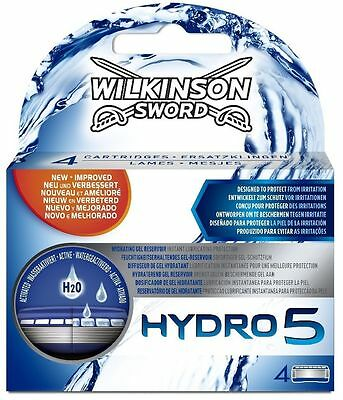 Wilkinson Sword Hydro 5 Shaving Razor And/or Blades 4 8 12 Pack Trimmer Shaver