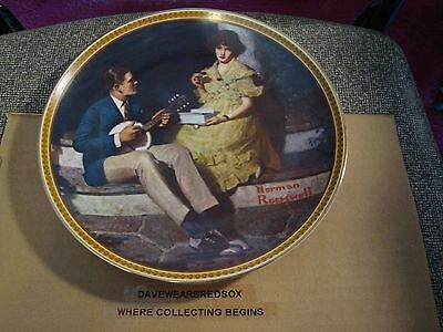 1984 Norman Rockwell Decorative Plate #8849L Rediscovered Women Collection EX-MT