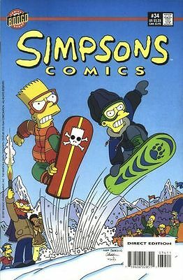 Bongo comics Simpsons #34 NM FREE UK POST