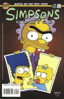 Bongo comics Simpsons #35 NM FREE UK POST