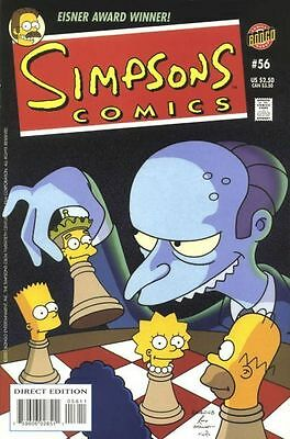 Bongo comics Simpsons #56 NM FREE UK POST