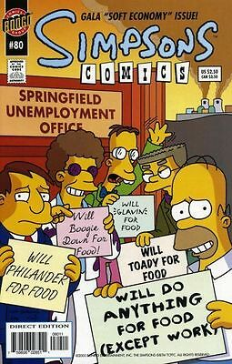 Bongo comics Simpsons #80 NM FREE UK POST