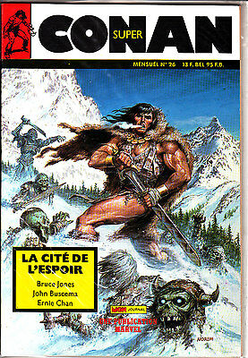Conan  Super  N° 26      Publication  Marvel  Mon Journal