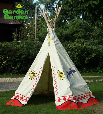 New Kids Teepee, Wigwam Tent, Childrens Play Tent. Childs Garden Or Indoor Toy