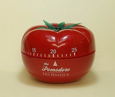 Official Pomodoro Technique timer — Francesco Cirillo, tomato, time management