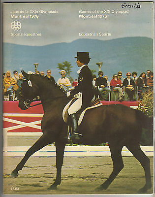 Orig.Complete PRG    Olympic Games MONTREAL 1976  -  EQUESTRIAN  !!   VERY RARE