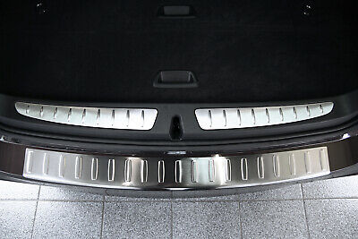 Stainless Steel Boot Edge Protector compatible with BMW 3 Series Touring F31