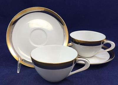 Sango ROYAL MUSE 2 Cups & Saucers 6845 Pre-Owned GREAT CONDITION