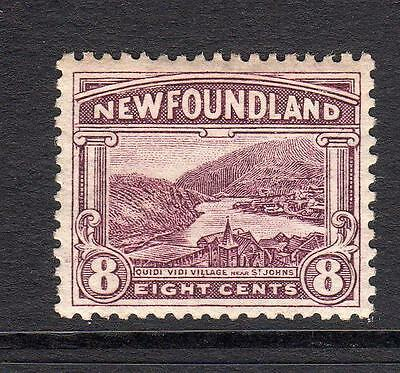 Newfoundland 8 Cent Stamp c1923-24 Mounted Mint
