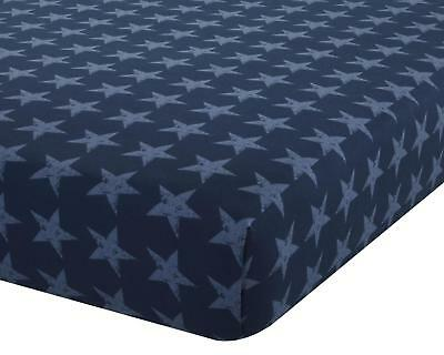 Catherine Lansfield Stars & Stripes Fitted Sheet  Single / Double