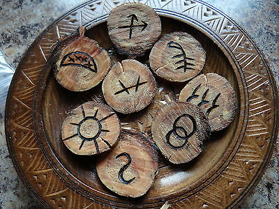 Unique Witches Runes Wiccan Pagan Altar Supply