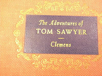 "Nice Old Vtg 1959 Book ""the Adventures Of Tom Sawyer"" Samuel Clemens, Mark Twain"
