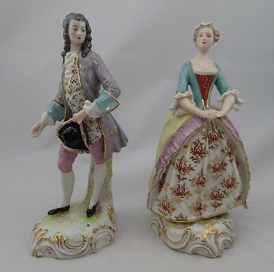 A Pair of Porcelain Figures of a Lady and Gentleman Germany Appraisal