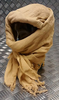 Genuine Issue British Forces Shemagh Sand Cadets Sniper SAS Para Army - NEW