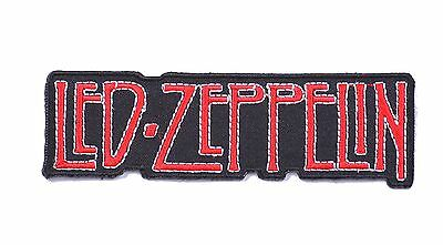 Led Zeppelin heavy metal band music iron on sew on embroidered patches badges