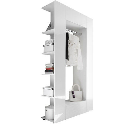 garderobe hochglanz grau awesome diy flur garderobe moderne garderoben sets flur huelsta grau. Black Bedroom Furniture Sets. Home Design Ideas
