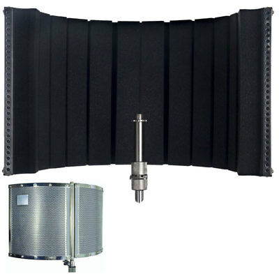 CAD Acousti-Shield 32 Stand Mounted Acoustic Enclosure for Microphone recording