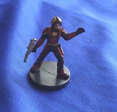 Star Wars Miniatures Knights of the Old Republic #7/60 Old Republic Captain - NC