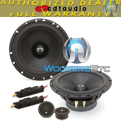"CDT AUDIO AF-256//02BL 2/"" CAR MID TWEETERS SPEAKERS ACCENT FILL SYSTEM NEW"