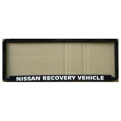 Novelty Number Plate Frame - Nissan Recovery Vehicle Car Auto Accessories Gift
