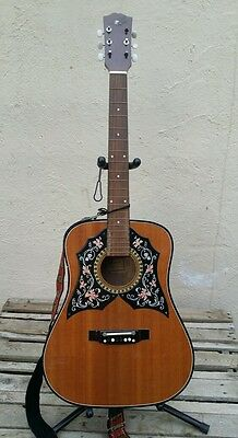 Vintage 1970's Checkmate acoustic guitar ( made in Korea )