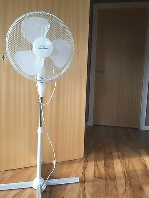 """16"""" Oscillating Fan Extendable Free Standing Pedestal Cooling Electric - NEW"""