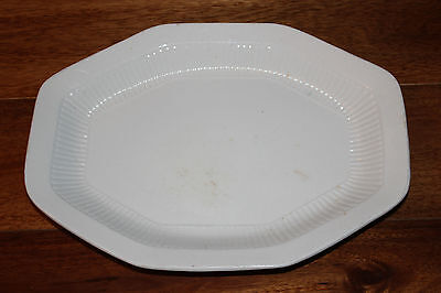 Wm Adams & Sons England Real English Ironstone White Serving Platter Empress