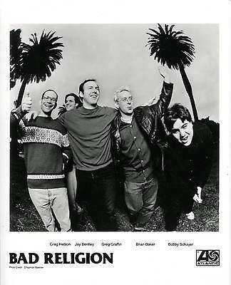 Bad Religion No Substance 1998 Press Kit With Photo Greg Graffin Jay Bentley