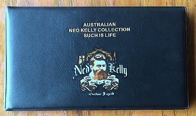 Ned Kelly EMPTY Bank Note Album 6 Clear Thick Pages Holder For Notes Book !! New