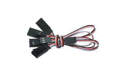5 pcs 15CM Ultra Light Servo Extension Lead Cable Wire For RC Plane