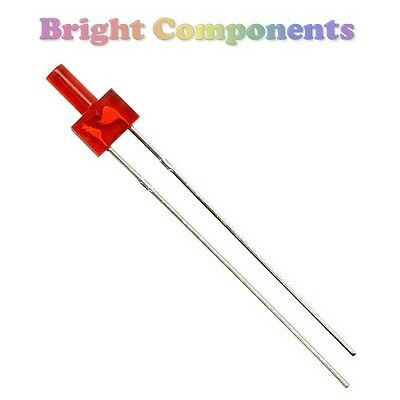10 x Red LED 2mm - Tower / Lighthouse LED - 1st CLASS POST